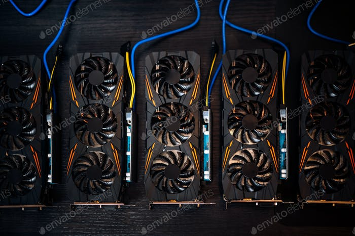 Cryptocurrencies 6 mining rig components, blockchain details of technology. bitcoin, litecoin