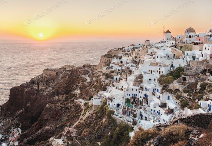Oia town, Santorin, Griechenland