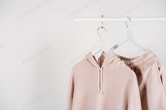 Work from home outfit, casual wardrobe, WFH wear, comfy style background with sport wear outfit