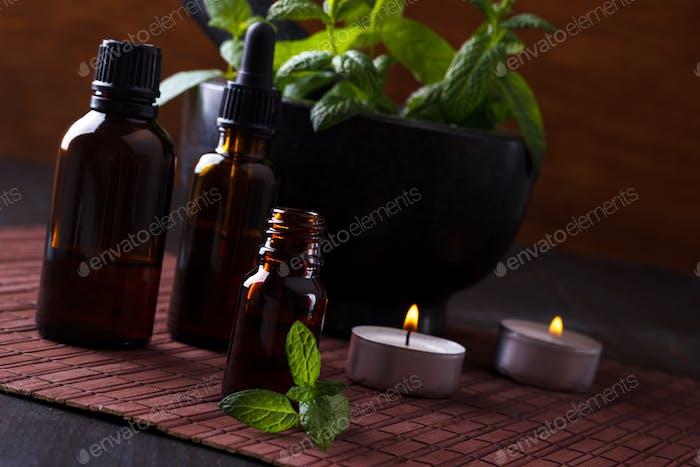 Mint essential oils