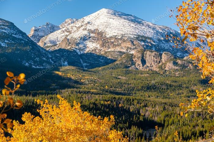 Otoño en Montañas Rocosas, Colorado