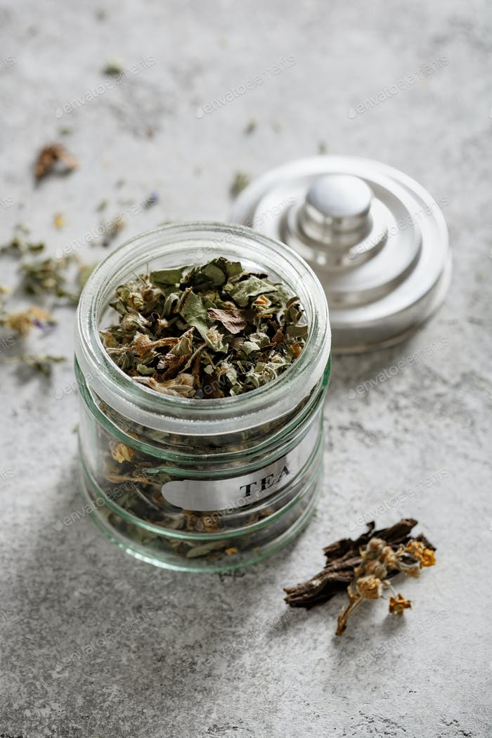 Useful herbal tea from various plants