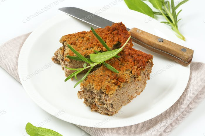 pork and liver meatloaf