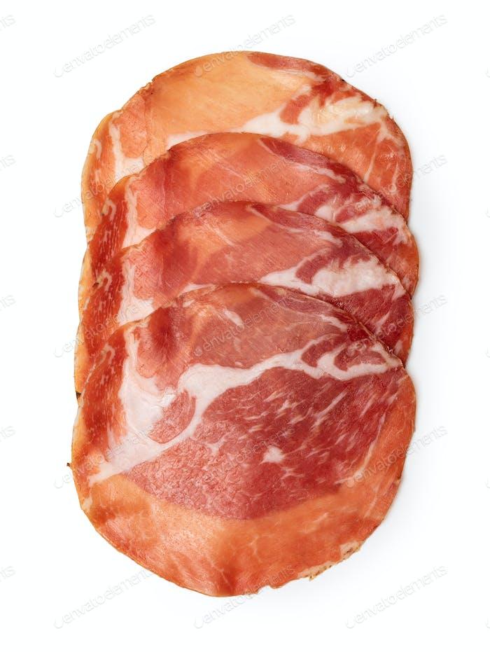 salami sausage slice