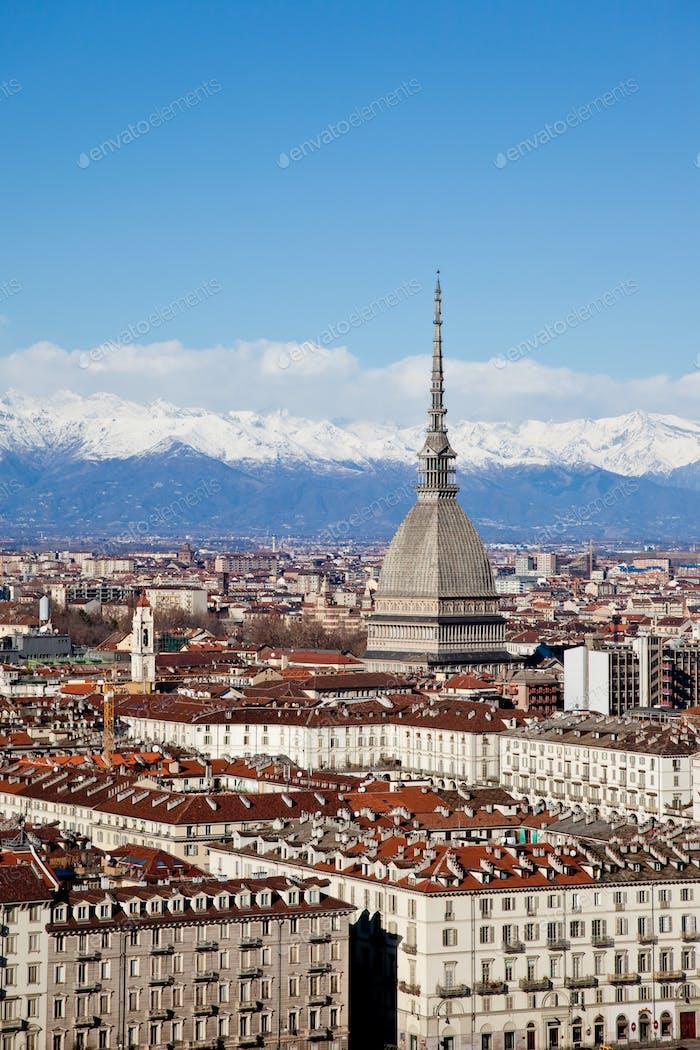 Turin panoramic view