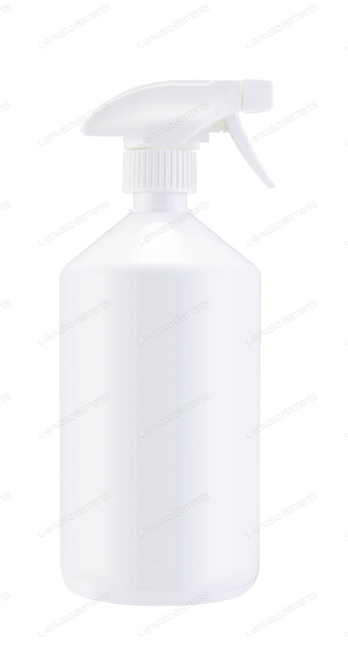 White Blank Spray Pistol isolated