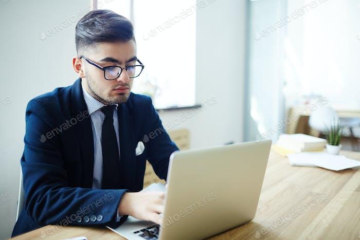 E-businessman