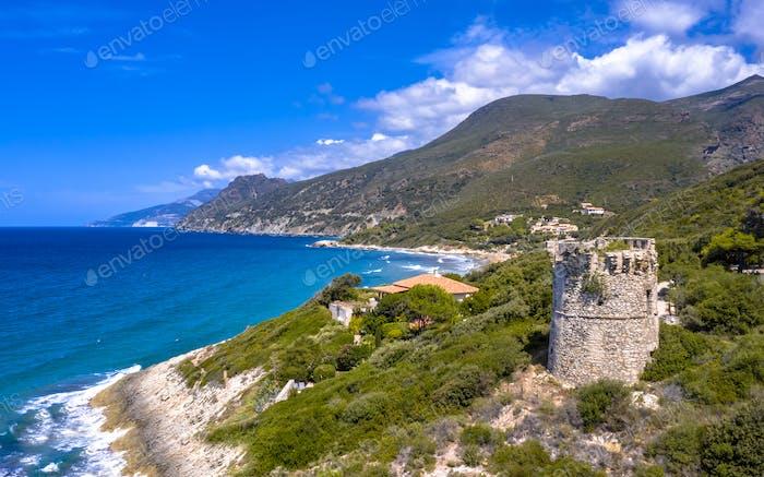 Aerial Cap Corse