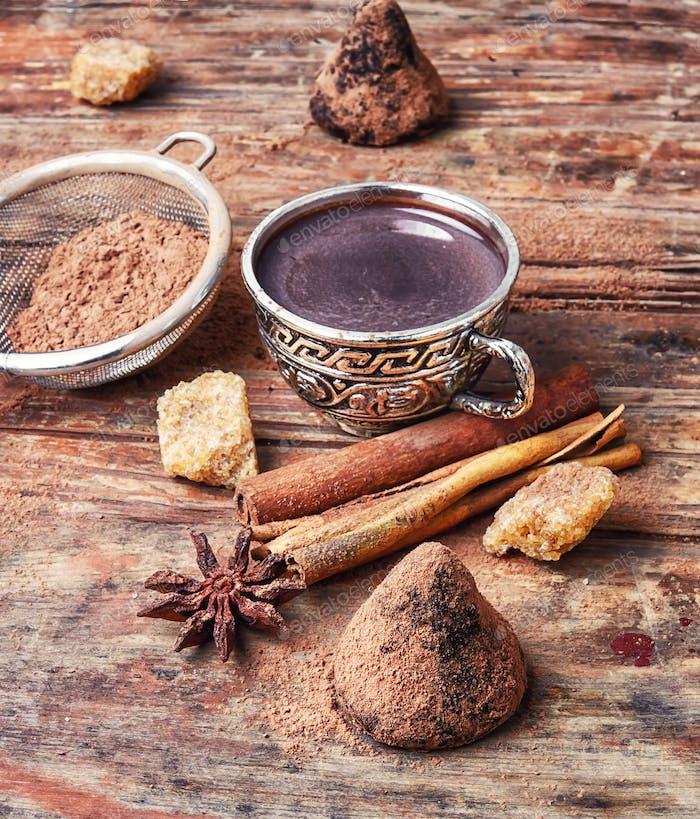 Tasse mit Kakao