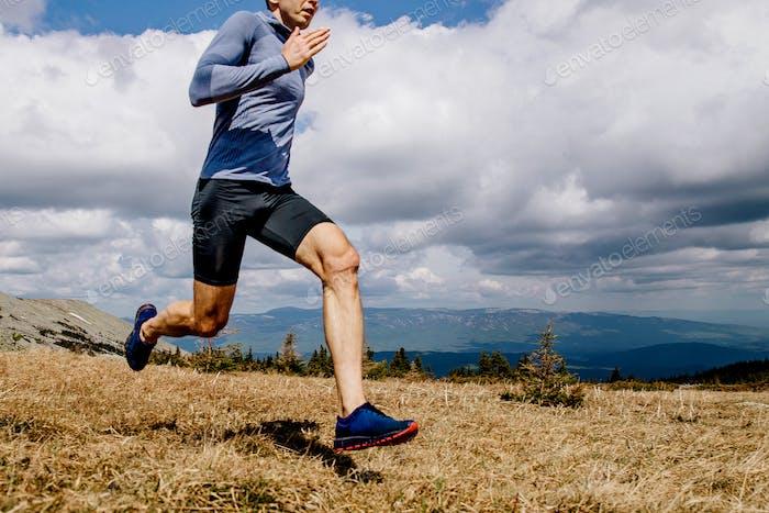 dynamischer Laufmann Läufer