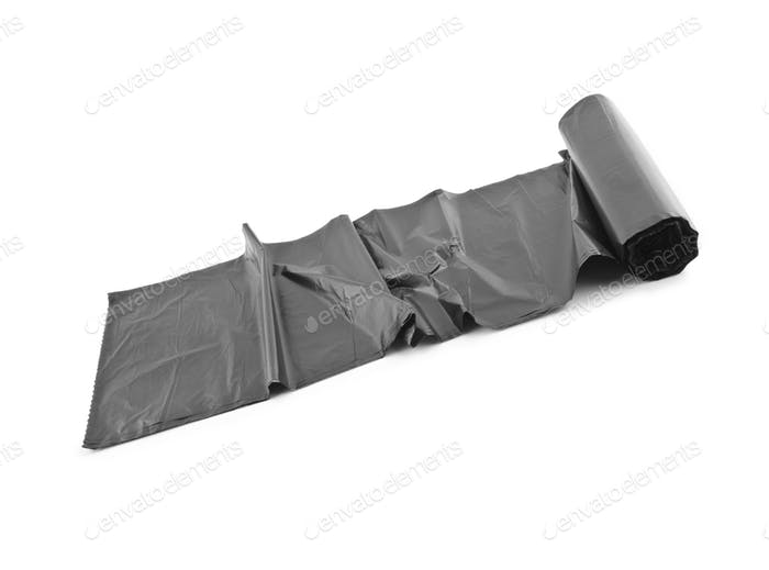 roll of black dustbin liners