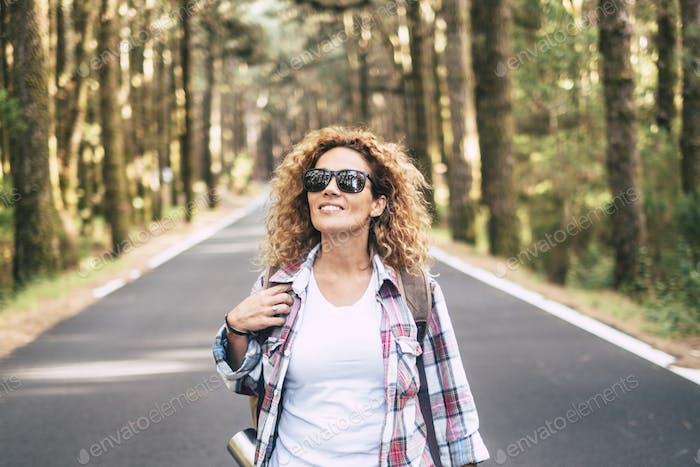 Happy travel wanderlust lifestyle