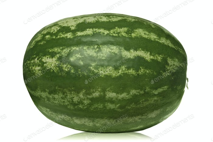 Wassermelone isoliert auf weiß