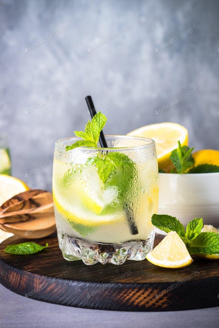 Лимонад летний холодный напиток