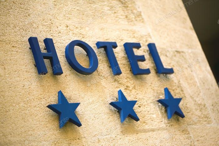 Three stars hotel