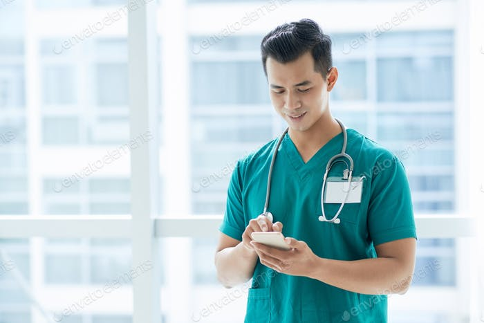 Texting doctor