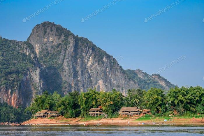 Small lao village