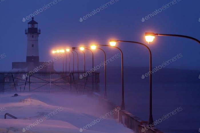 Duluth Harbor North Breakwater Leuchtturm