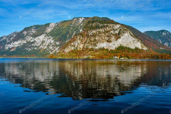 Hallstatter See lake mountain lake in Austria