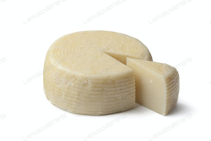 Piece of Greek cheese