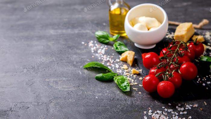 Pesto ingredients .Super Food.