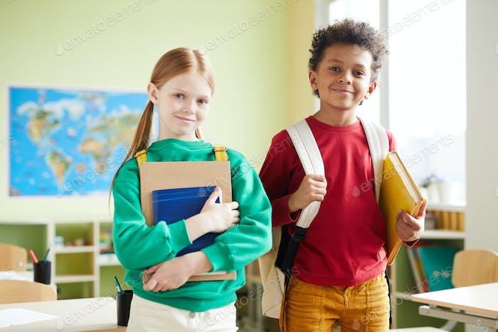 Scholars in classroom