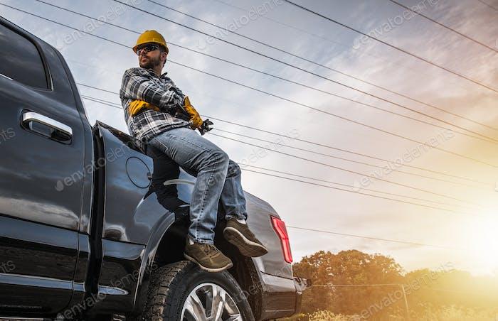 Freelance Handyman Worker