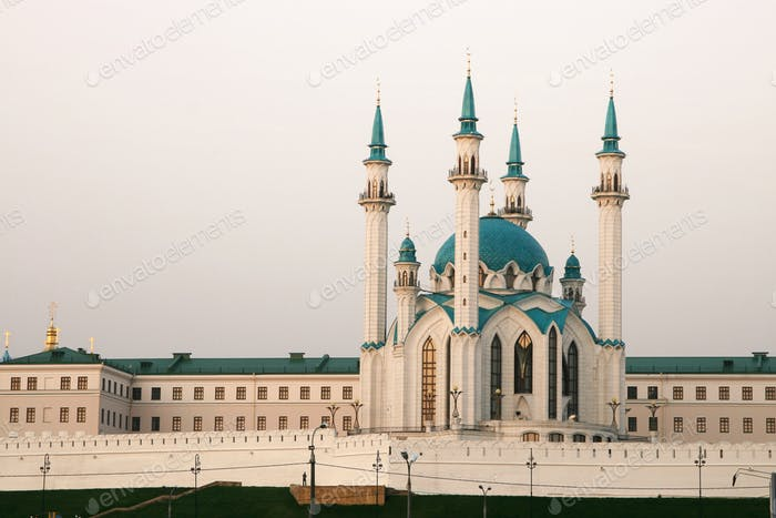 the Kul Sharif mosque, Kazan, Russia