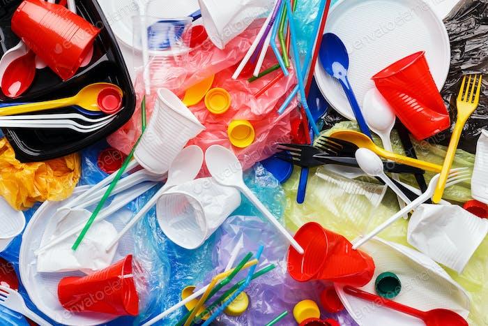 Abfall, der recycelt werden kann