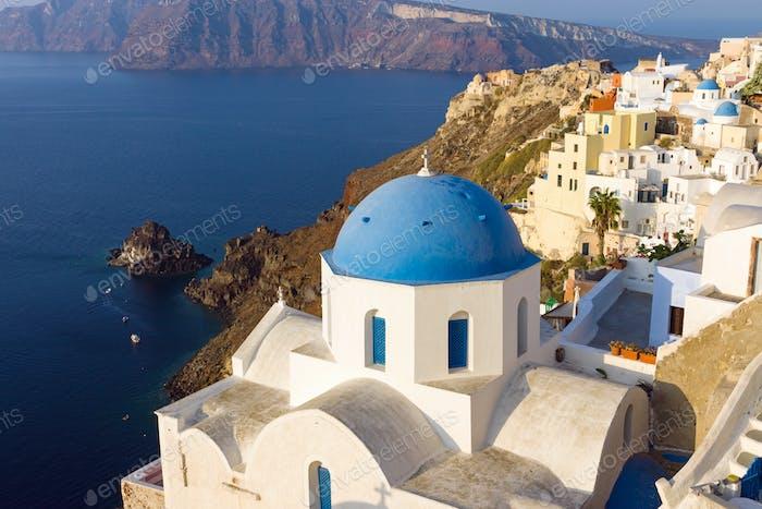 Iglesia en Oia, Santorini