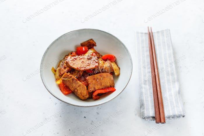 Szechuan traditional dish
