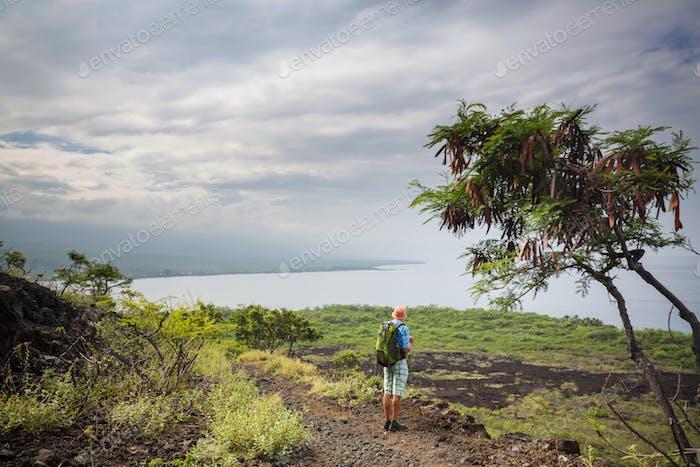 Wanderung in Hawaii