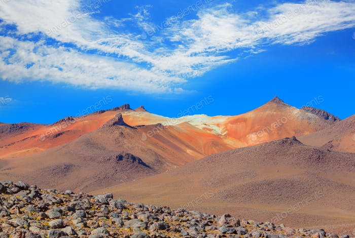 Andes in Bolivia