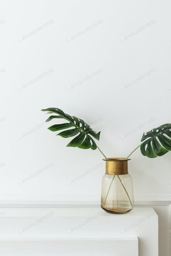 Plants on a vase