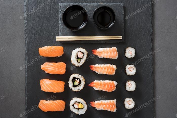 Japanisches Essen Sushi