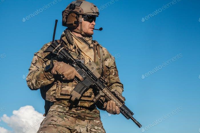 Ranger in den Bergen