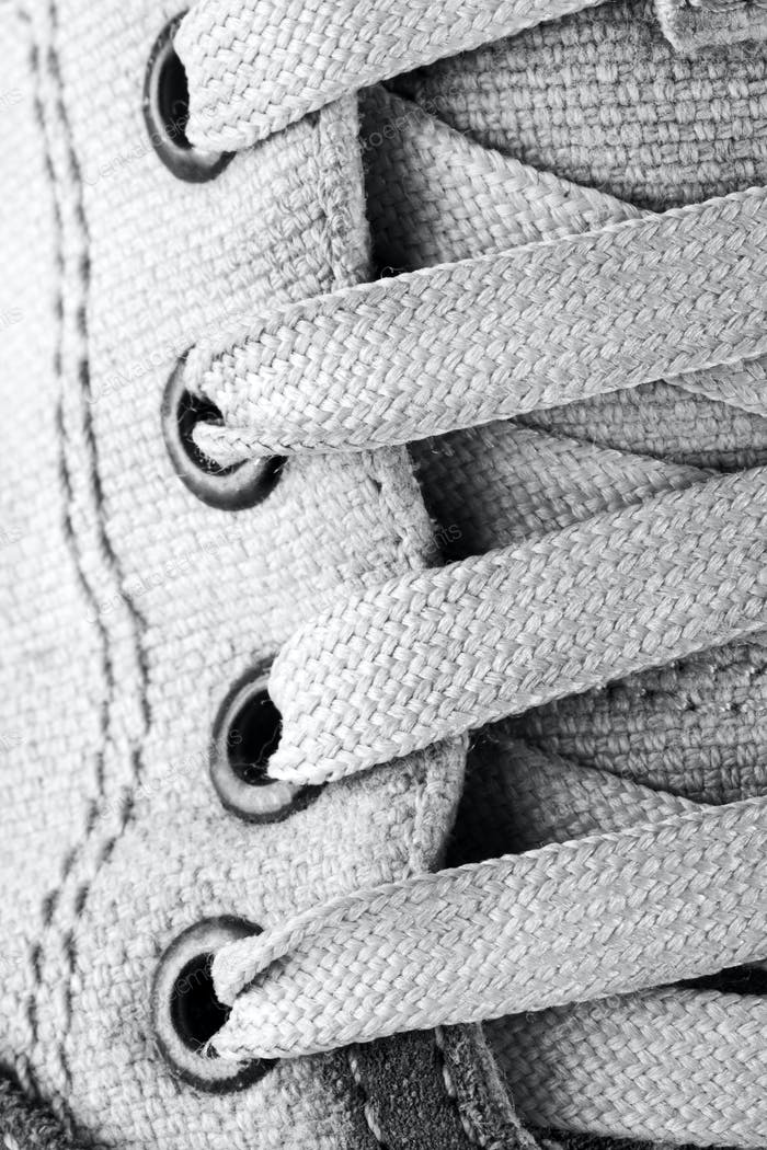 Running shoe laces