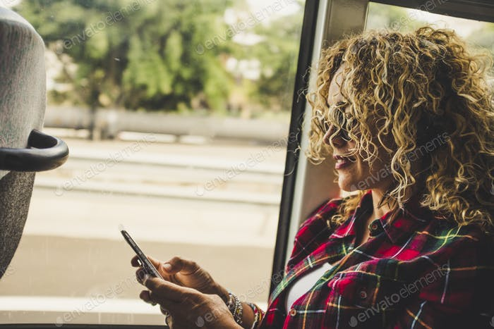 People and travel with technology