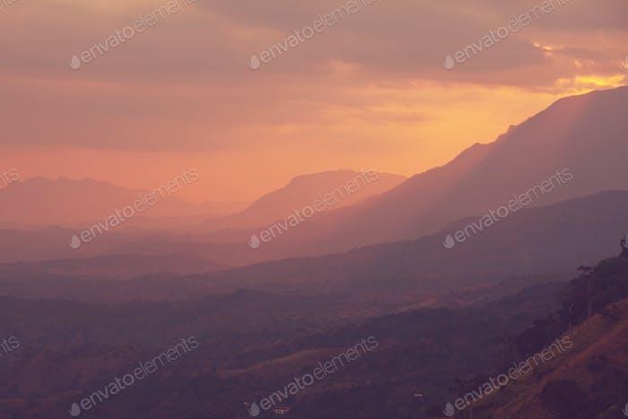 Sri Lanka Landschaften