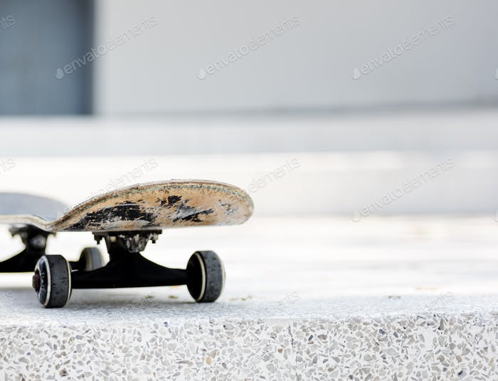 Skateboard Focus Style Life Concept