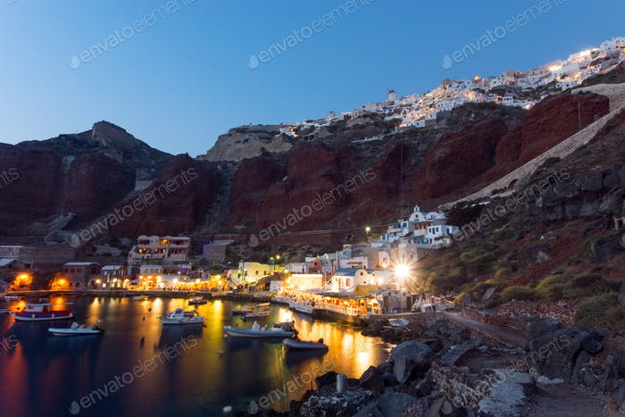 The port of Ammoudi
