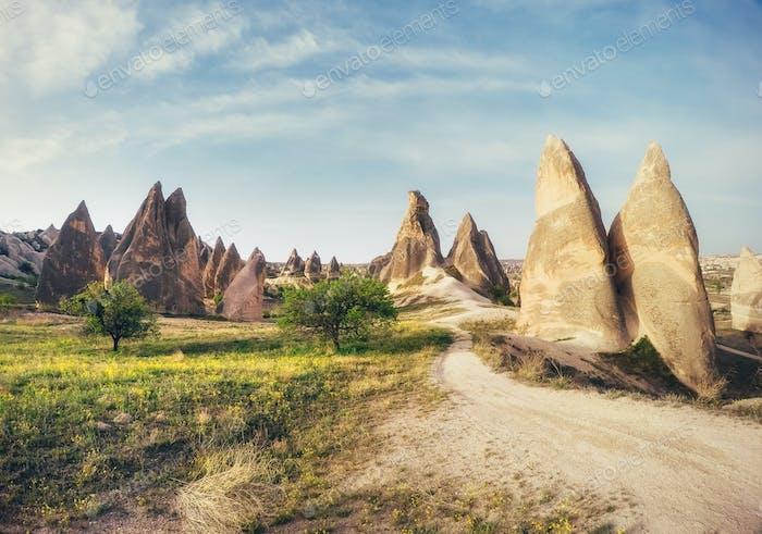 View of Cappadocia. Turkey
