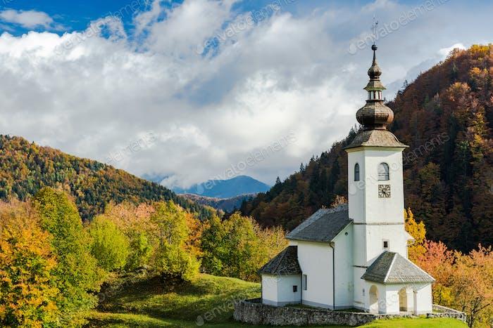 Sv. Marko chapel in Lower Danje, Slovenia