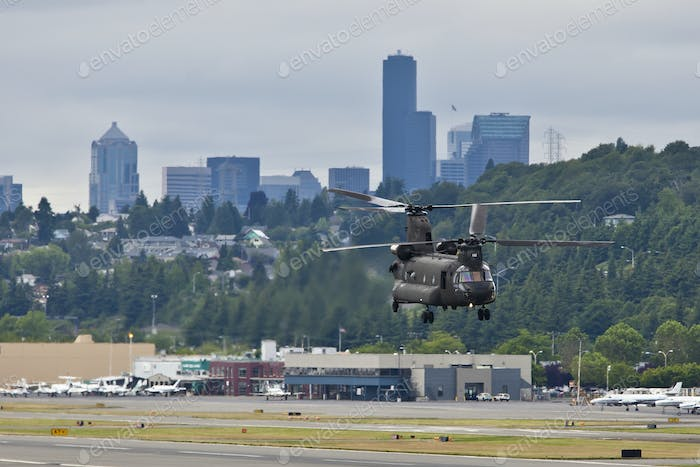 45427,Military Helicopter Landing