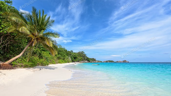 Beach in summer of Thailand