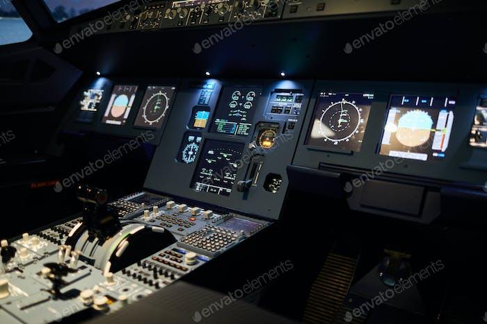 Night illumination of flight deck