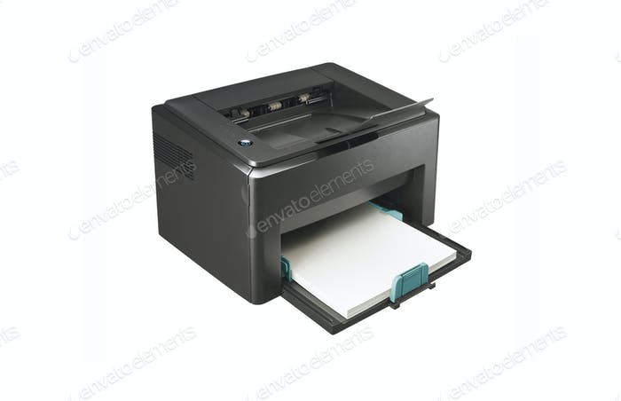 multi function printer isolated