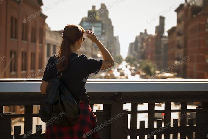 Enjoy the city view