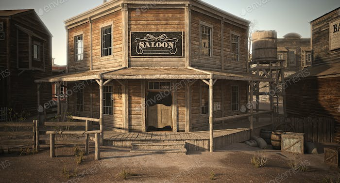 Saloon in town
