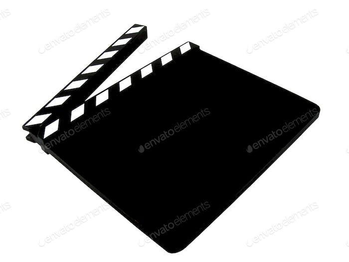 Ein leeres Movie Clapper Board